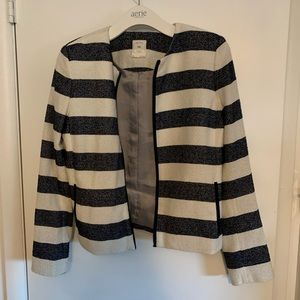 Gap striped blazer/jacket
